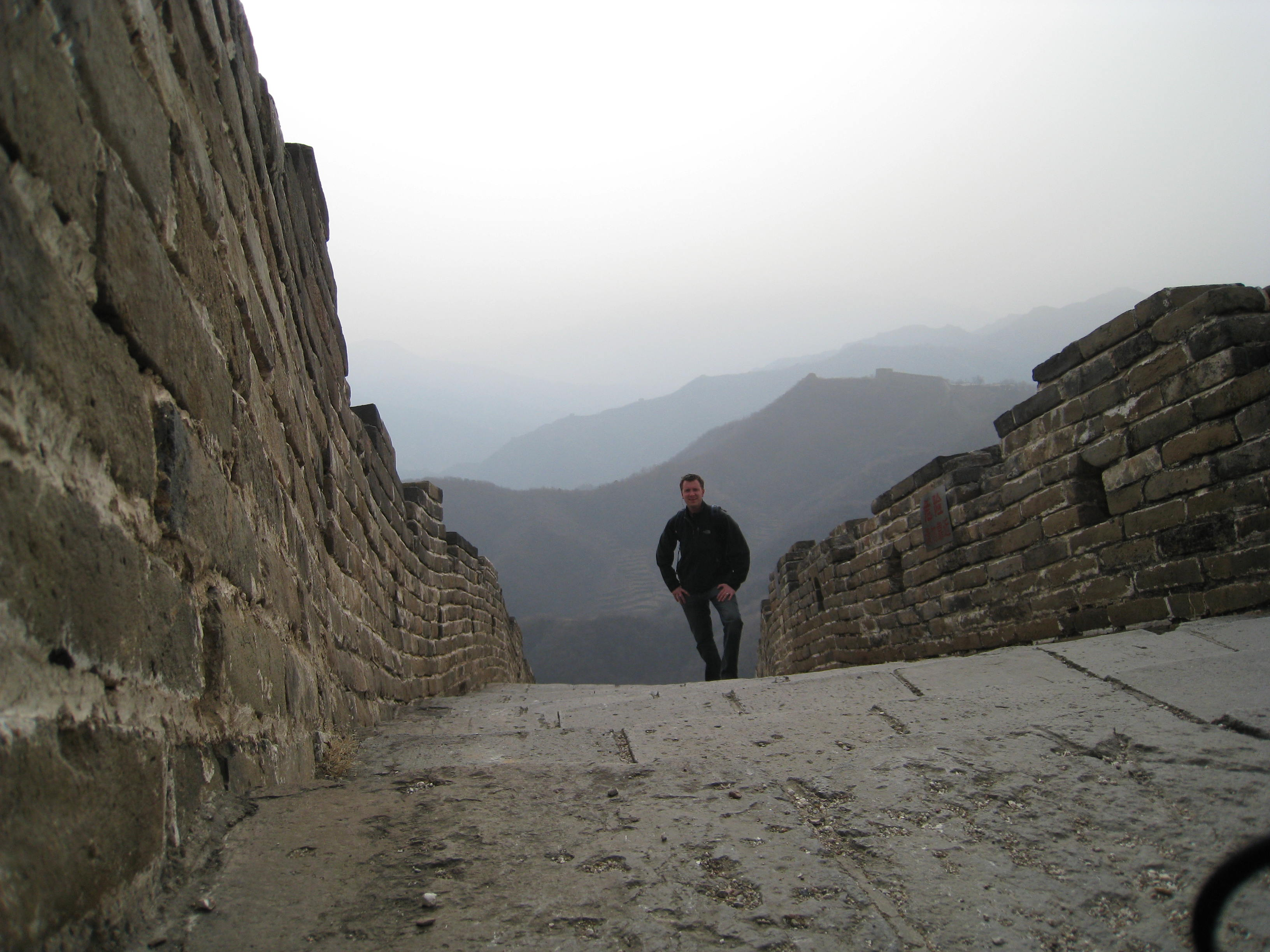 On The Great Wall!
